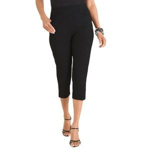 Chico's Travelers Collection Crepe Crops 1.5